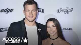 Aly Raisman & Colton Underwood On How They Spent Valentine's Day | Access Hollywood