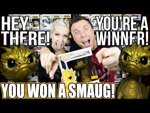 WINNER Announcement : Gold Smaug Funko Pop Vinyl Giveaway!