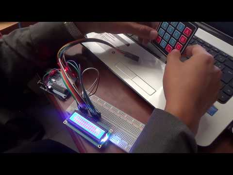 Calculadora 4 operaciones con Arduino