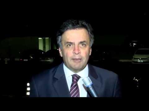 Aécio Neves – Mensagem ao PSDB