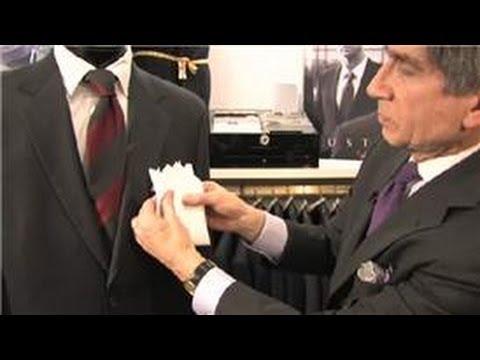 Ο σωστός τρόπος διπλώματος και τοποθέτησης του μαντηλιού στο κουστούμι