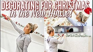 🎄DECORATING THE NEW HOUSE FOR CHRISTMAS | CLEAN AND DECORATE WITH ME w CHRISTMAS MUSIC | Love Meg