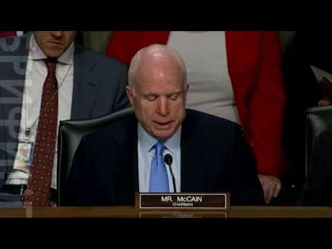 Джон Маккейн - о российских кибератаках и вмешательстве в президентские выборы США (видео)