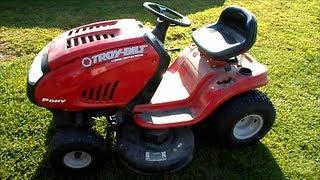 10. Troy Bilt Pony Riding Lawn Mower 42
