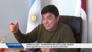 VIDEO CON NOTA A ALICIO Y GONZALEZ: ASI COMENZARON LAS OBRAS DE CORDON CUNETA Y ADOQUINADO EN LA CUMBRE