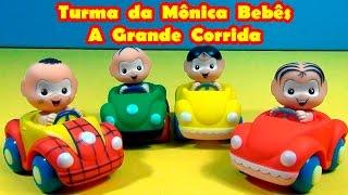 Turma da Mônica Bebês A Grande Corrida A turma da Mônica ensina você e brinca com você. Mônica e Magali , Cascão e Cebolinha, todo mundo se diverte .
