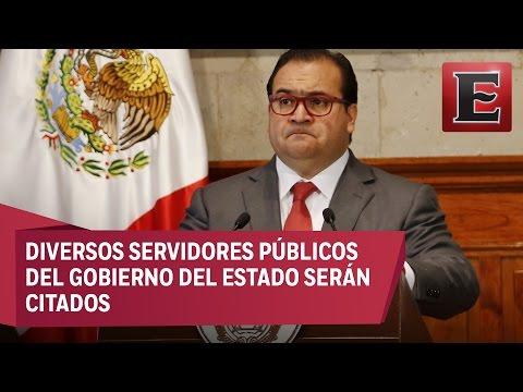 PGR indaga al gobernador de Veracruz por enriquecimiento ilícito