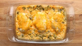 Cheesy Chicken Broccoli Bake by Tasty