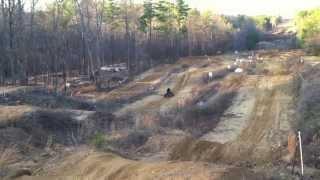 6. YFZ 450 Jumping at the ridge