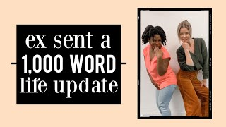 Ex Sent Me a 1000 Word Update of His Life w/ Melisa D. Monts | DBM #106 by Meghan Rienks
