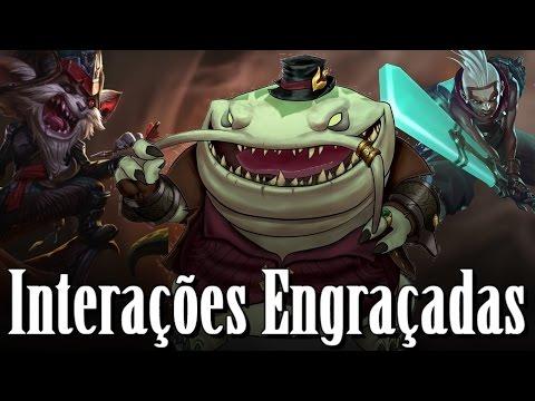 Status engraçados - As Falas mais Engraçadas #1 League of Legends