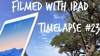 Timelapse of the sky I wanted to make with my iPad. The quality is not the best but I like it. Hope you do to! ----------------------------------------------...