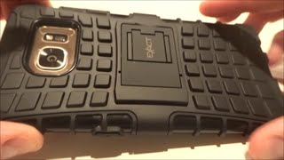 I was looking for a case for my Samsung Galaxy S7 Edge that had a good grip, a kickstand, a decent lip, and was affordable. After much searching, this is from where I bought mine:http://www.ebay.com/itm/Exact-Tank-Kickstand-Hybrid-Armor-Impact-Hard-Case-for-Samsung-Galaxy-S7-Edge-/161982393717?var=&hash=item25b6e72d75:m:mQeXSCl37FbNShAtGcF0-bgIt now only costs less than $5 with free shipping.  Hopefully, this video helps with your purchasing decision.