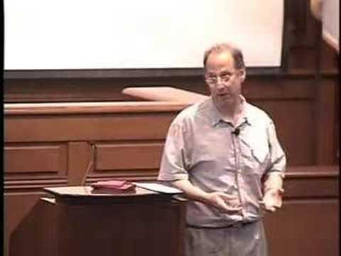 David Weinberger - Internet und Gesellschaft 2007