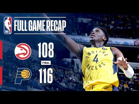 Video: Full Game Recap: Hawks vs Pacers | IND Takes Down ATL
