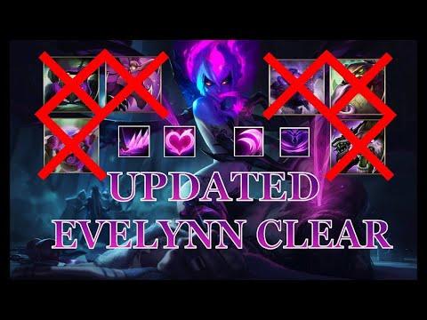 Evelynn Jungle Full Clear/Pathing Season 11 Gameplay