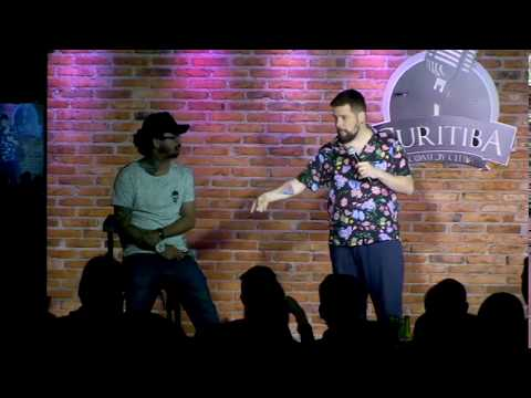 Piadas engraçadas - Fábio Lins e João Pedrada - Corrente de Piadas - Stand Up Comedy