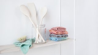 """Knitting is a sweet activity which can result in something highly useful, if you ask Anna. Have a look at the video in which Anna knits useful dishcloths for the kitchen. You can find the knitting pattern here: http://sostrenegrene.com/diy-corner/Find the products from the video in your local Søstrene Grene shop.Remember to press the """"thumbs up"""" button and tell all your friends about this simple, but creative way of making gifts for your friends. You can also subscribe to our channel for notifications on Anna's DIY videos on fun craft projects. On our YouTube channel, you can find creative inspiration and tutorials on DIY projects, styling, painting and even cooking. All our videos aspire to encourage playfulness and creativity for all ages, kids and adults alike.Best regards,SØSTRENE GRENEFind further inspiration on our other social media channels:https://instagram.com/sostrenegrenehttps://facebook.com/sostrenegrenehttps://youtube.com/sostrenegrenehttp://pinterest.com/sostrenegrenesVideo timeline:Materials: 0:01Final product: 0:38"""