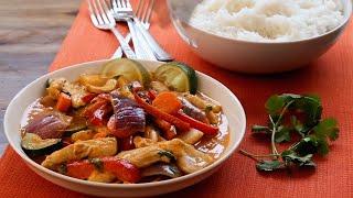 Tajskie czerwone curry