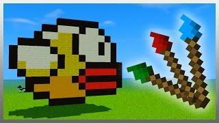 • Create AMAZING Pixel Art in Minecraft!