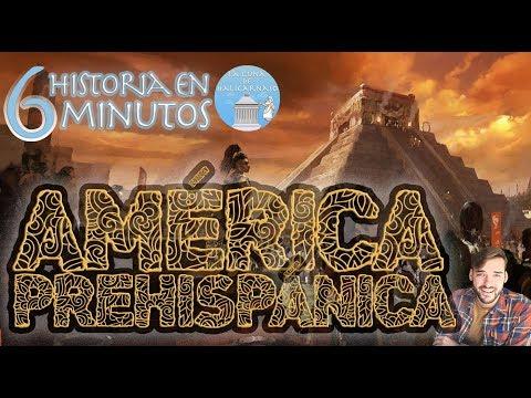 AMÉRICA PREHISPÁNICA (12.000 a.C.-1492 d.C.) | Resumen en 6 minutos | feat. El mapa de Sebas