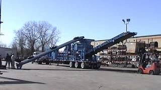 Model 72-44BGHT Mobile Shredder - Tires