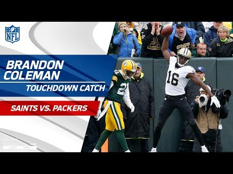 Video: Michael Thomas' Big Catch on 3rd Down Sets Up Brandon Coleman's TD! | Saints vs. Packers | NFL Wk 7