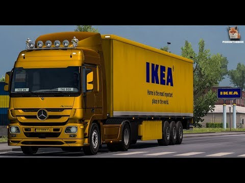 Mercedes Actros MP3 Stock Sound v3.0 1.30.x