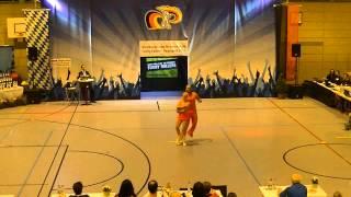 Jeanette Uhl & Mario Bludau - Nordbayerische Meisterschaft 2015