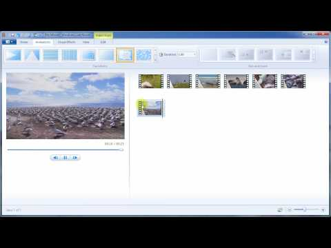 Windows Live Movie Maker: inserimento effetti, stabilizzazio...