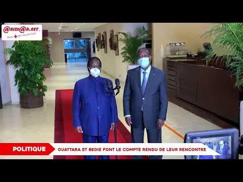 DECLARATION DE LA COALITION POUR LA DEMOCRATIE, LA RECONCILIATION ET LA PAIX (CDRP) RELATIVE A LA CRISE SOCIO-POLITIQUE ACTUELLE
