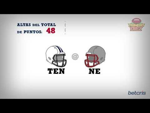 Pronósticos de Apuestas Playoffs NFL 2018 - Titans vs Patriots