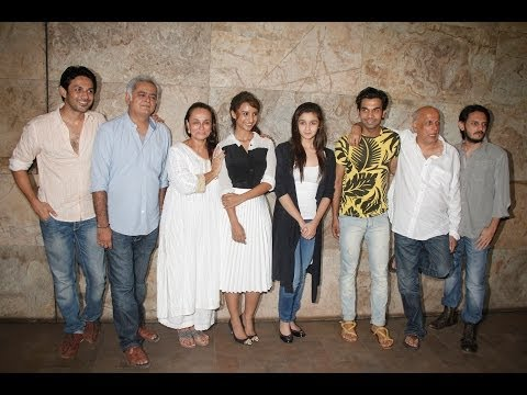 Alia Bhatt,Rajkumar Rao Other Celebs At Screening Of Movie Citylights