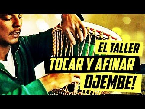 ¿COMO TOCAR Y AFINAR EL DJEMBE? +Tips+Cínica+Trucos #EL TALLER de @Bitajon