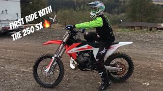 8. Riding my new KTM 250SX 2019 at Schweyen!
