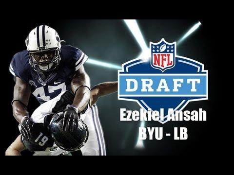 Ezekiel Ansah - 2013 NFL Draft Profile video.