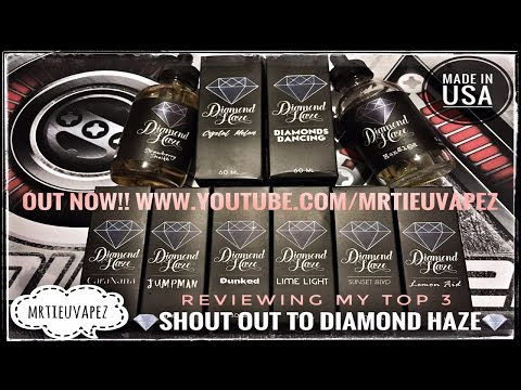 Diamond Haze - My Top 3 - Vape Expo 2016 Is Complete!!