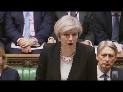 Prime Minister's statement on the London attacks (видео)