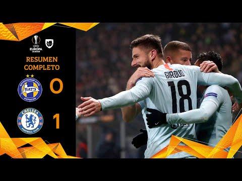 Bate Borisov 0-1 Chelsea - GOLES Y RESUMEN - Grupo L - UEFA Europa League