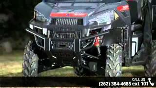 7. 2015 Polaris Ranger XP 900 EPS Super Steel Gray  - Action...