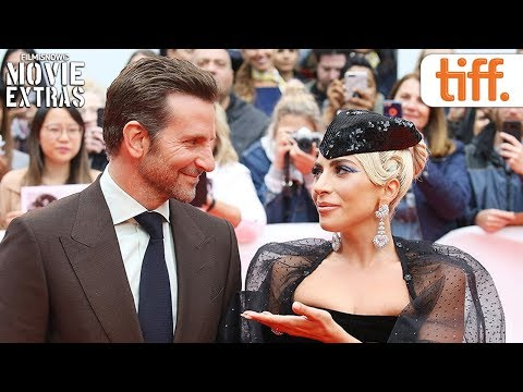 A STAR IS BORN | Toronto International Film Festival (TIFF) red carpet & cast interview