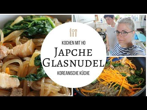 Koreanische Japche Glasnudeln - Kochen mit Ho | LaBelleLouve
