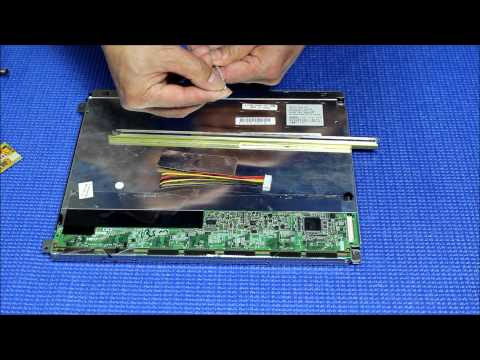 AA121SL01. How to Install LED Backlight