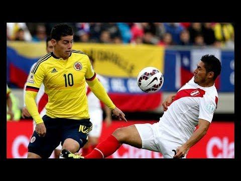 peru vs colombia eliminatoria rusia 2018 (видео)