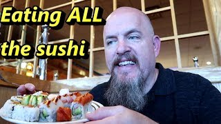 Video CUTOFF at All You Can Eat (AYCE) Sushi Restaurant - NO SUSHI FOR YOU!!! MP3, 3GP, MP4, WEBM, AVI, FLV Agustus 2019