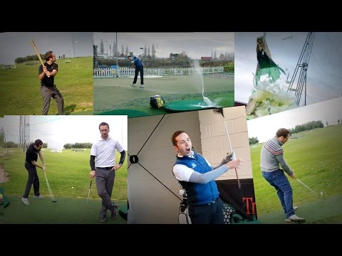 GOLF TRICK SHOT COMPILATION! Featuring Peter Finch and Rick Shiels