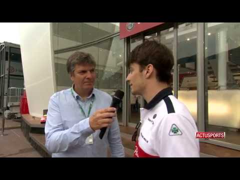 Formula 1: post-race analysis with Charles Leclerc