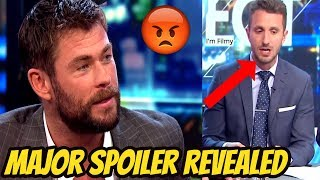 Video Thor 3: Ragnarok - Chris Hemsworth Gets Angry On Interviewer For Revealing a Major Spoiler - 2017 MP3, 3GP, MP4, WEBM, AVI, FLV Desember 2018