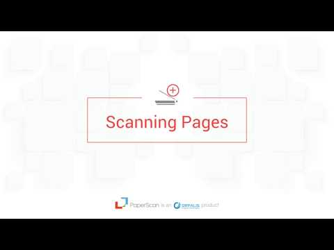 Paperscan Video Guide Episode 2 Scanning and Importing documents
