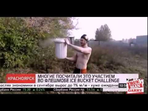 戰鬥民族挑戰將一桶-195度的液化氮一口氣往身上倒,結果..